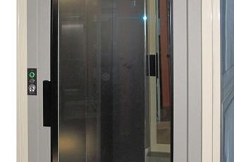 Elevador DH con estructura autoportante panorámica