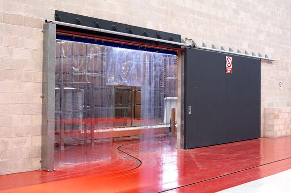 Correderas dav door solutions for Puertas contra incendios